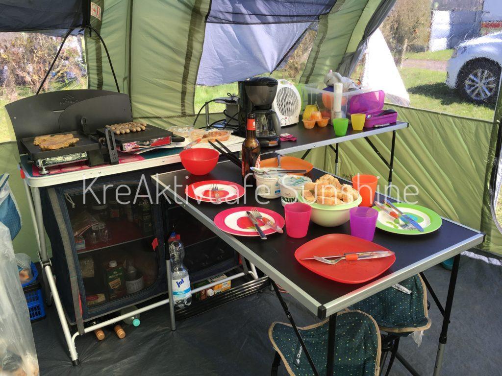 Die einfache Campingküche