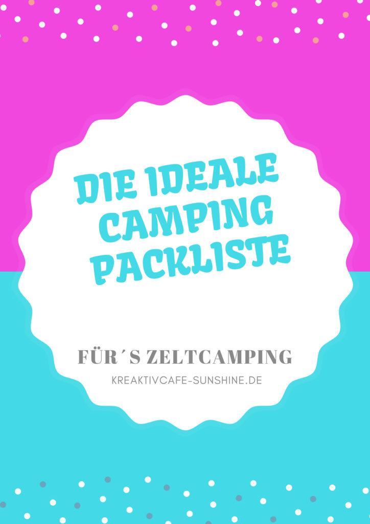 ideale Campingliste