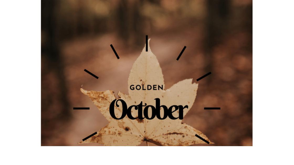 {15 Dinge} Im Oktober werde ich: